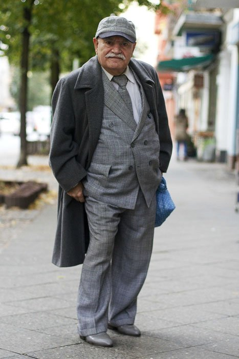 Photographer Turns Dapper 83 Year Old Into A One Man Fashion Photo Blog