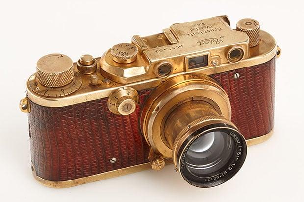 Leica III Mod. F LUXUS 'Karl Henkell' Read more at http://petapixel.com/?p=110613#4Vp3TDGWtm1rtsB0.99