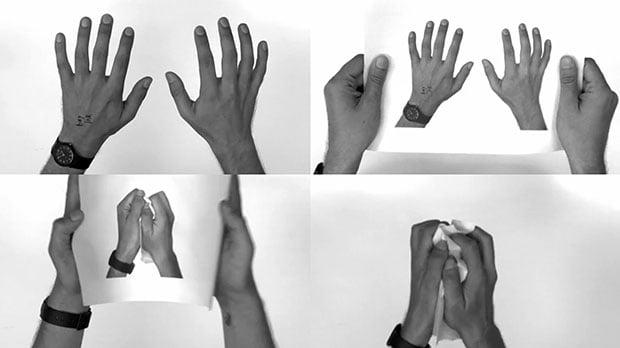 Mind-Bending Recursive Illusion Created Using Printed Photographs