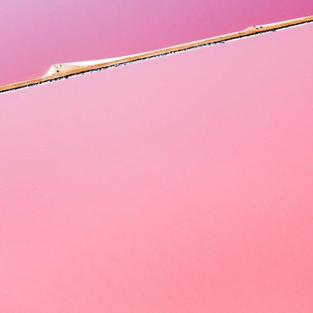 Undoctored Abstract Aerial Photos of the World's Largest Beta Carotene Farm huttlagoon4