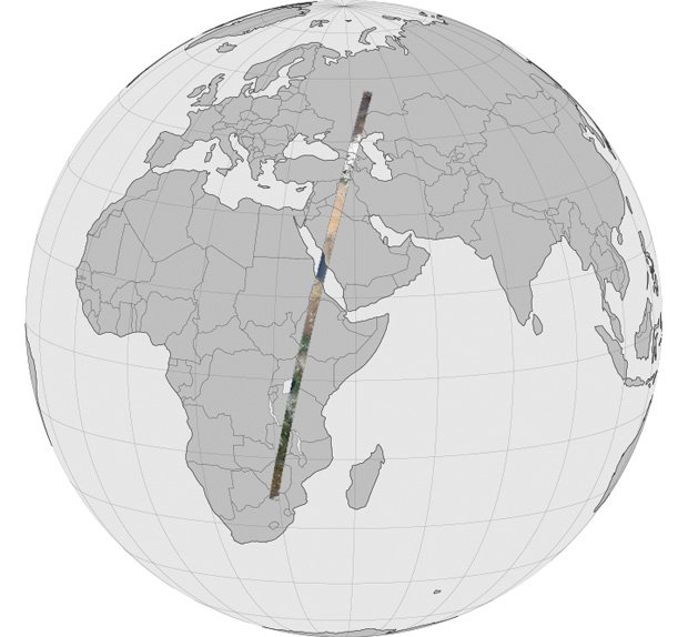 Landsat Earth Panorama