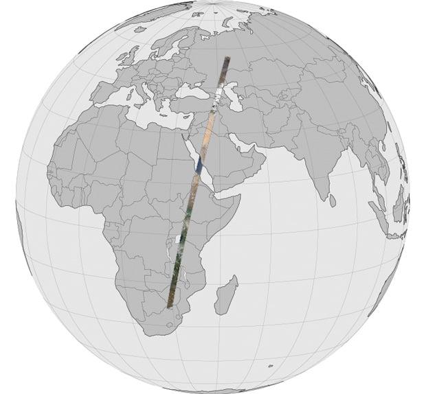 Landsat Earth Panorama