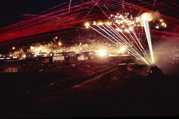 Long Exposure Photos of Gunfire at Night (A Memorial Day Memory)