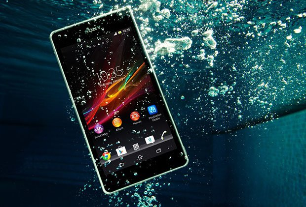 detailed look 7c16b e8ae2 Sony Xperia ZR Smartphone Doubles as an Underwater Camera