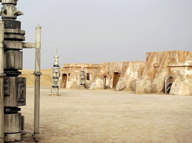 Photo Series Visits Abandoned Star Wars Film Sets in the Tunisian Desert