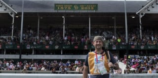 Thomas Campbell at the Kentucky Derby