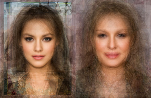 What Averaged Face Photographs Reveal About Human Beauty