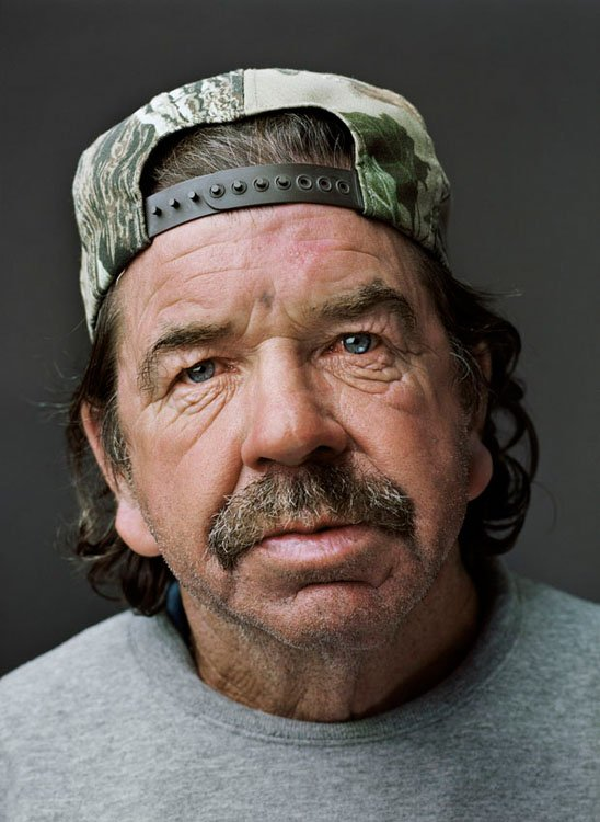 Portraits of the Homeless Photographed in a Studio Environment