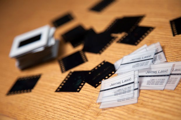 Diy 35mm film slide business cards 35mmfilmslidebusinesscards 1 colourmoves