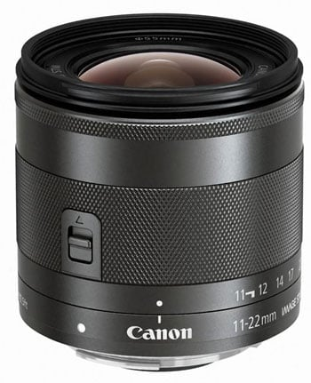 Canon EF-M 11-22 Vertical