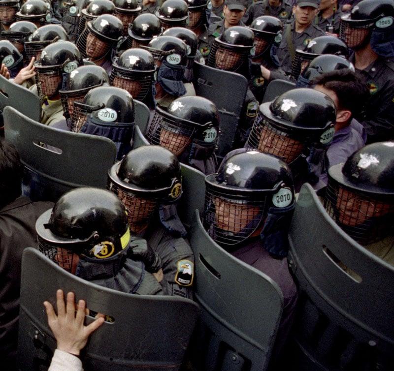 1993 Korea protest