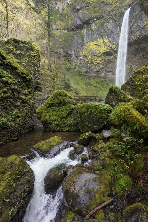 Elowah Falls, Oregon