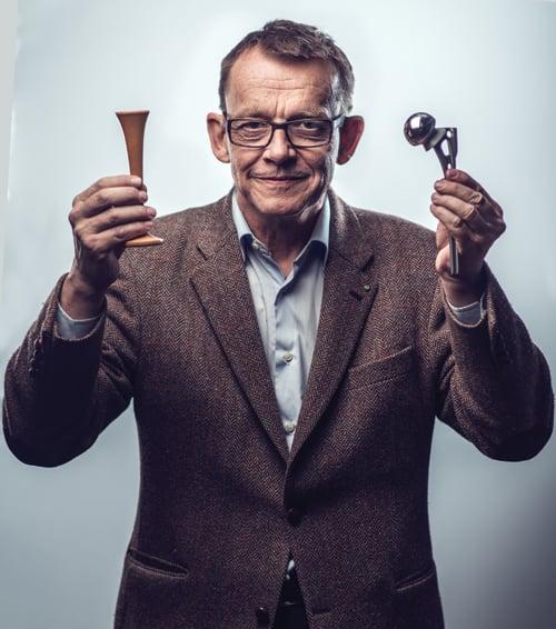 Hans Rosling smiling. Copyright Martin Kjellberg.