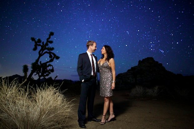 Joshua Tree Astro Engagement Session