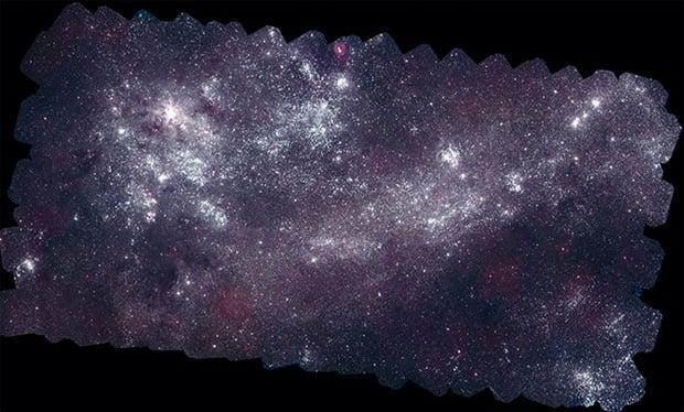 NASA Constructs 160-Megapixel Mosaic of Neighboring Galaxies