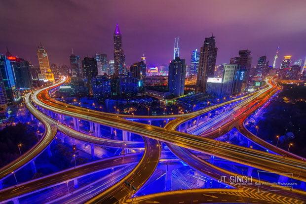 Yan An Lu Gap Jia, Shanghai, China