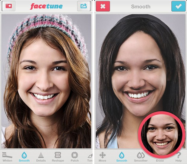 Facetune Brings Nifty Portrait Retouching Features To The Iphone
