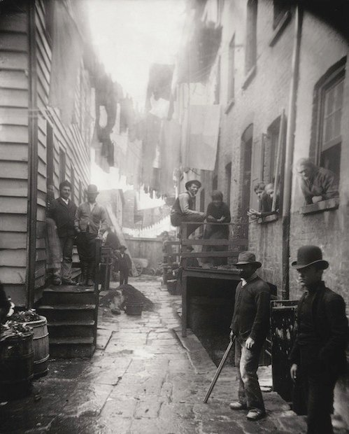 How the Other Half Lives: Photographs of NYC's Underbelly in the 1890s