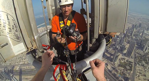Video: Photographer Joe McNally Shoots From the Tallest Building in the World