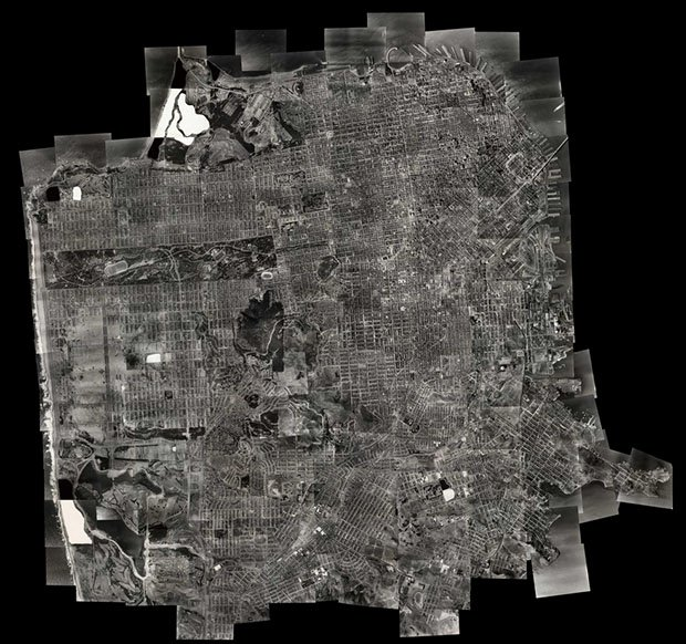 This Zoomable Composite Aerial Photo of San Francisco is Like a 1938 Google Earth