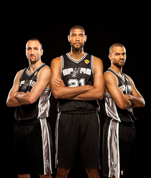 Photographing the Big Three of the San Antonio Spurs for Sports Illustrated spurs Black SEALE