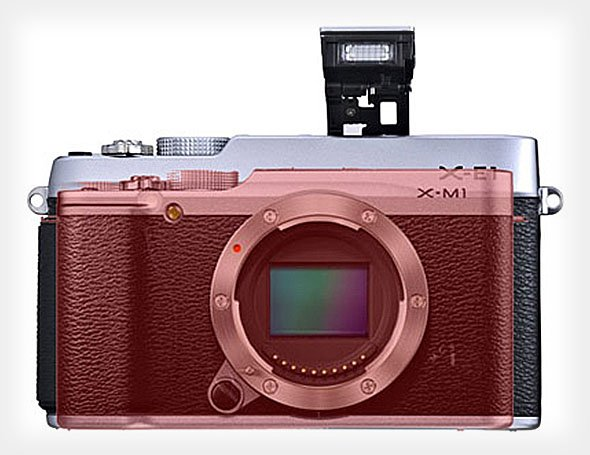 What the Upcoming Fujifilm X-M1 Looks Like Next to Other X Series Cameras