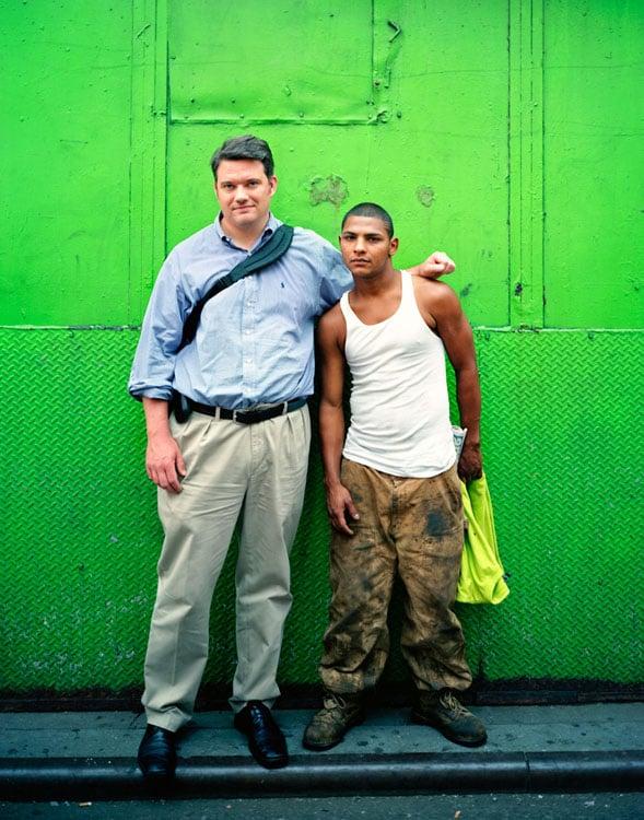 Carlos and Alex, 2007, NYC