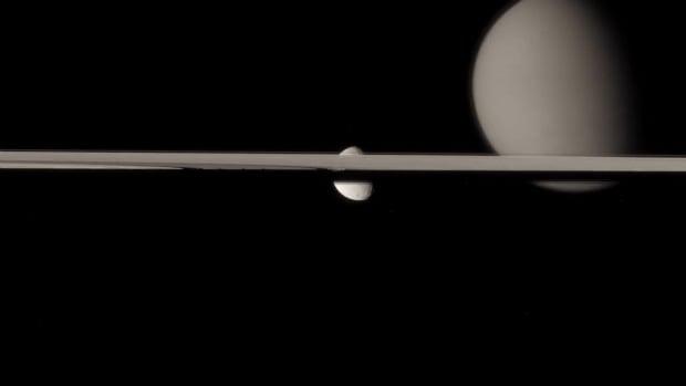 Cassini Waltz Shot
