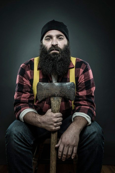 Of Beards and Men: Portraits of Men and Their Beloved Facial Hair