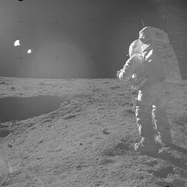 Apollo 14 lunar module pilot Edgar Mitchell