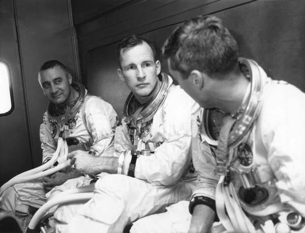 white apollo 1 astronaut - photo #15