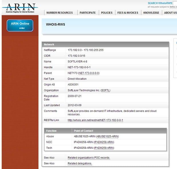 arin copy
