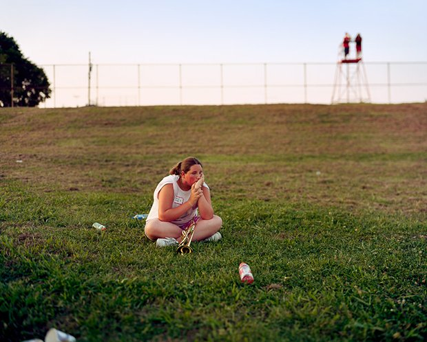 Trumpet, 2008. From the series Band Camp