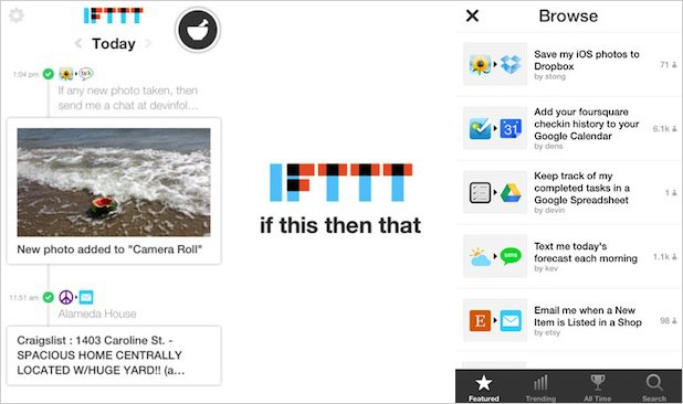 Create Custom 'If This Then That' Actions for Photos with the IFTTT iPhone App