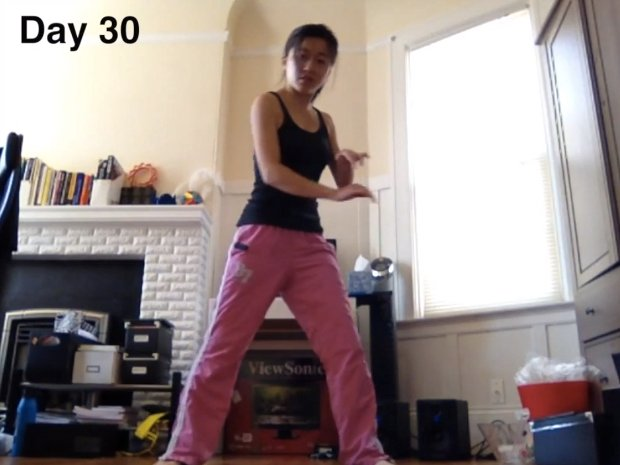 Dance-Lapse: Woman Uses Her Camera to Capture a Year of Learning to Dance