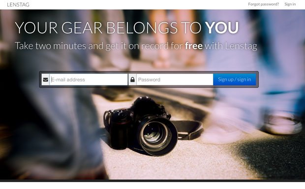 Lenstag: A Free Online Gear Registry that Aims to End Camera and Lens Theft