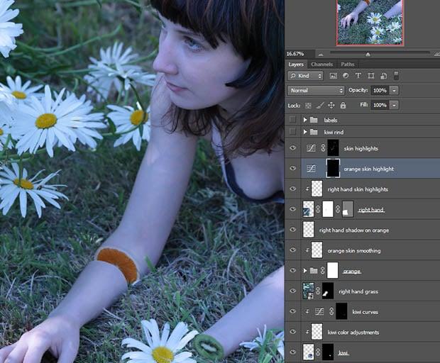 photoshopSkinHighlights