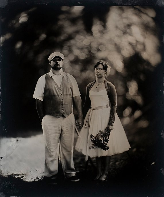 Wedding Tintype Portraits with a Massive 20×24 1800's Camera