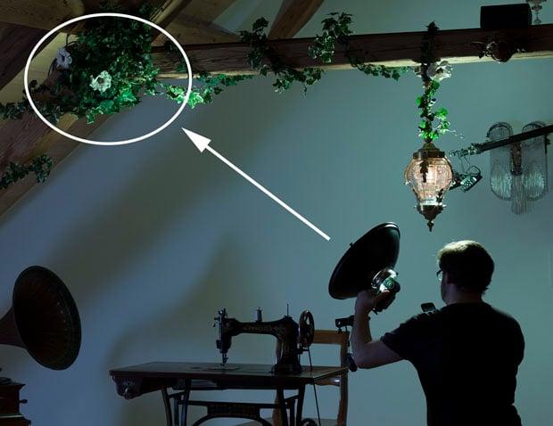 Zone lighting the ivy & Tutorial: Creating a Surreal Conceptual Photo Using u0027Zone Lightingu0027 azcodes.com