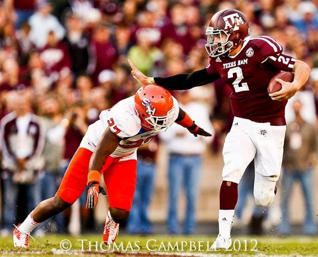 NCAA Football: Sam Houston State at Texas A&M