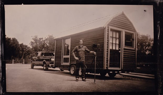 The Lumiere Photobooth: A Fully Mobile Traveling Tintype Portrait Studio