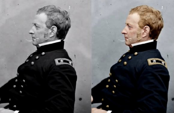 Quick Tutorial Takes You Through a Step-by-Step Colorization of a Civil War Photo