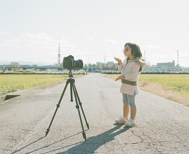 A Japanese Dad's Imaginative Conceptual Portraits of His 4-Year-Old Daughter