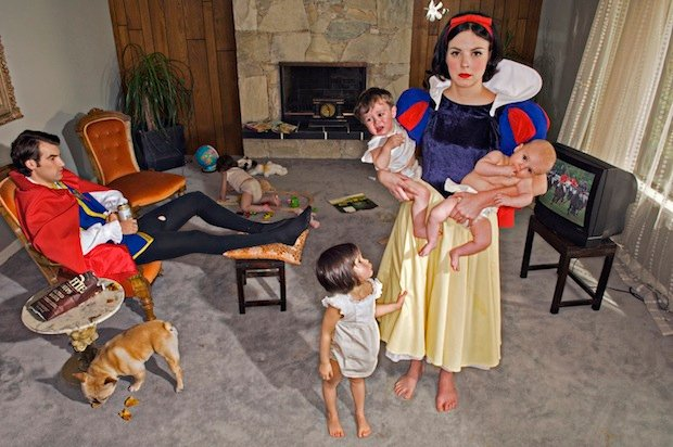 Fallen Princesses Photo Series Paints a Bleak Picture of 'Happily Ever After'