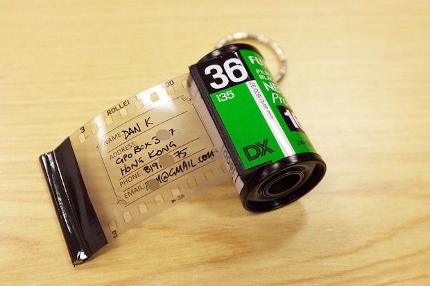 DIY: Film Canister Bag Address Tags
