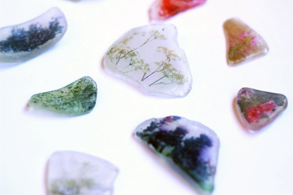 Use Beach Glass as an Awesome Medium for Photo Transfers