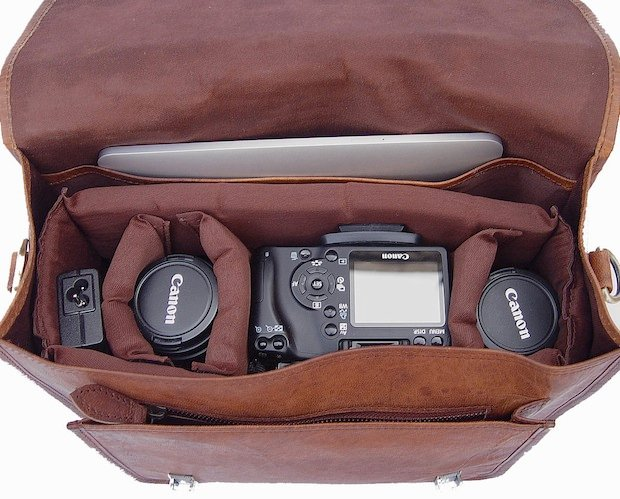 Hand-Crafted Leather Camera Bags that Won't Break the Bank