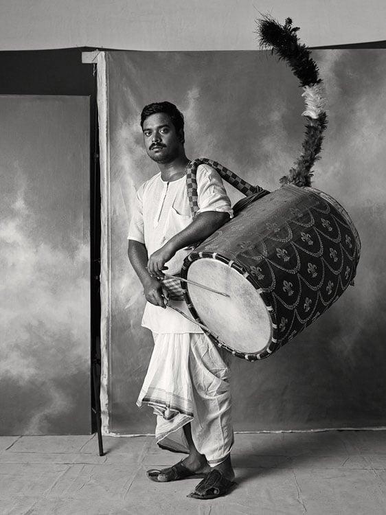 Festival drummer