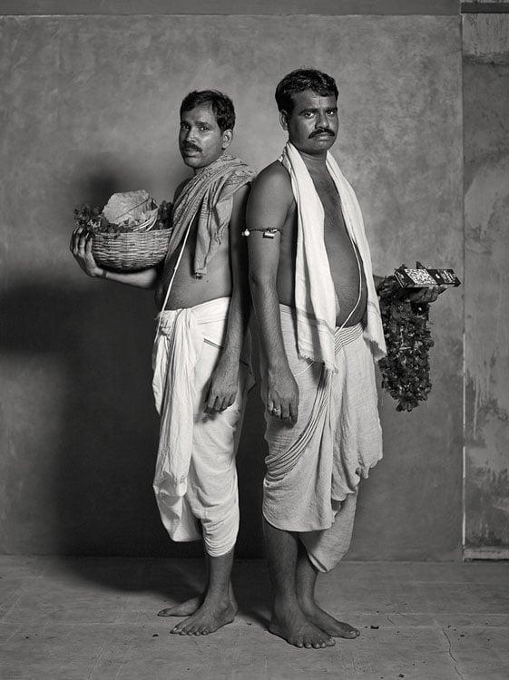 Kali temple priests