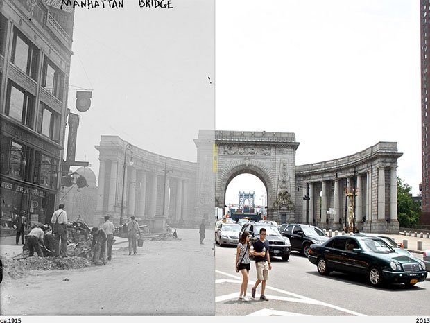 Then-and-Now Photos of New York City
